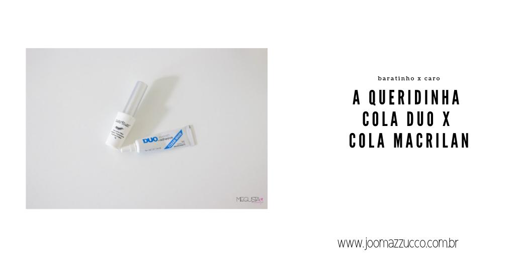 Elegance Functionality 45 - Comparando: Cola Duo x Cola Macrilan