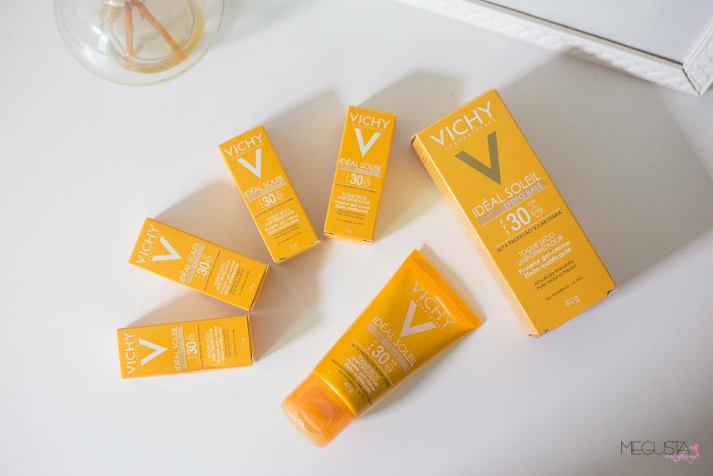 Vichy Ideal Soleil 3 - Resenha: Vichy Ideal Soleil Efeito Base