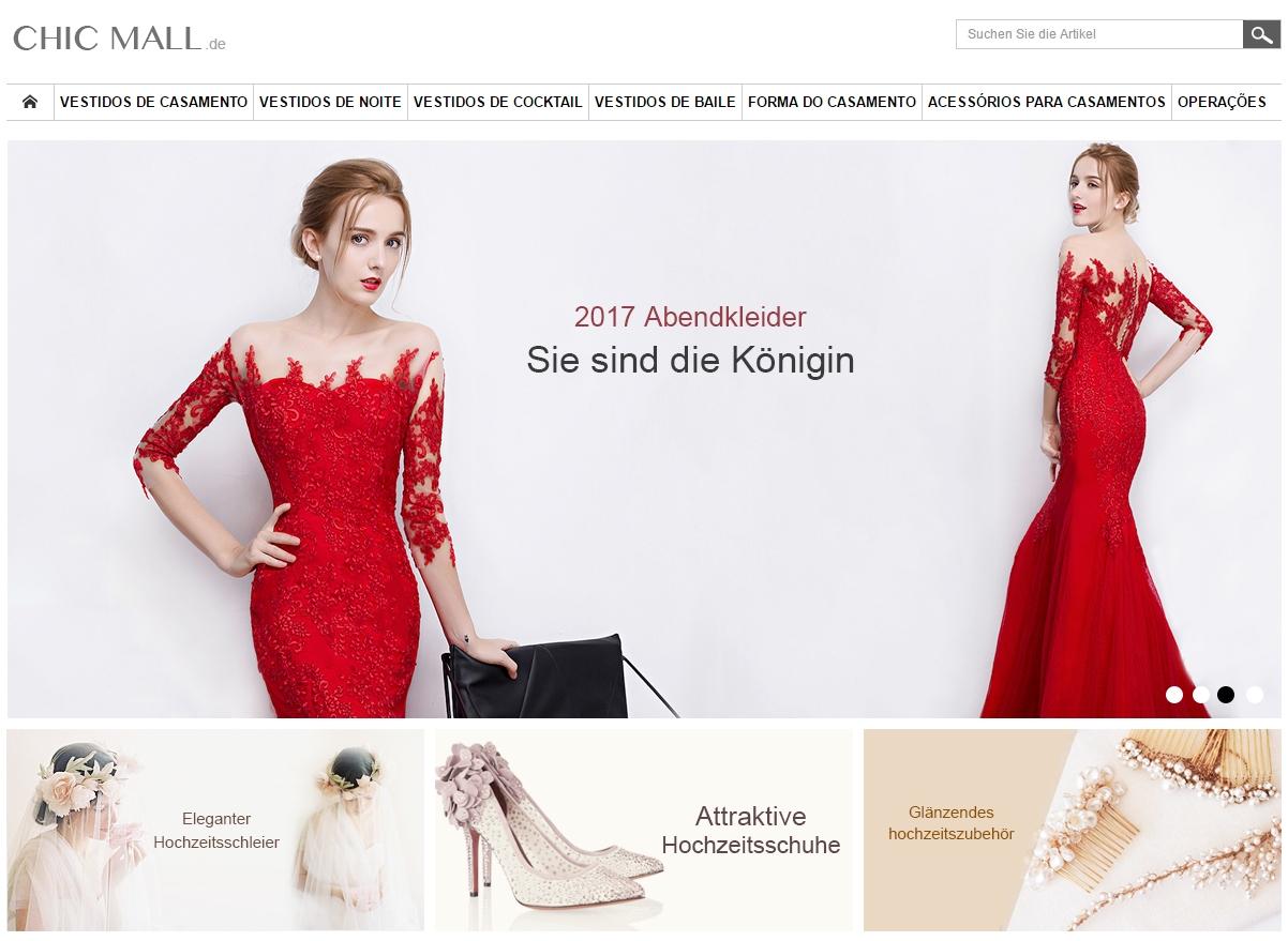 chic vestidos de festa - Onde Comprar Vestidos de Festa Online