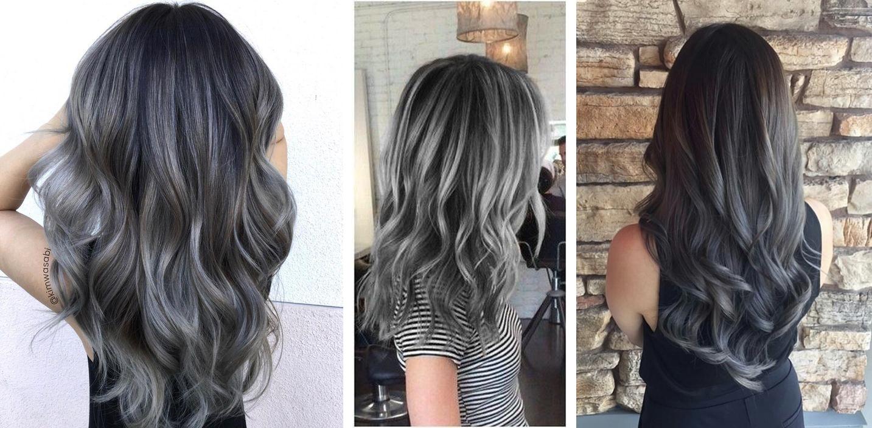 "charcoal 02 - Trendy: Charcoal Hair - O Cabelo Cor de ""Carvão"""