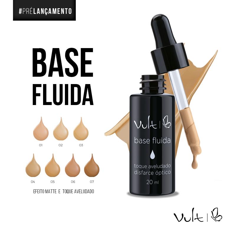 Base Fluida Vuld conta gotas - Lançamentos da BeautyFair 2017 que são Desejo!