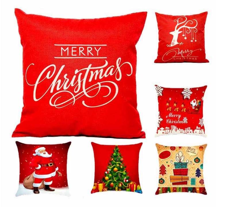 Almofadas Banggood - 06 Itens de Decoração de Natal que são Desejo por Menos de 10$ na Banggood