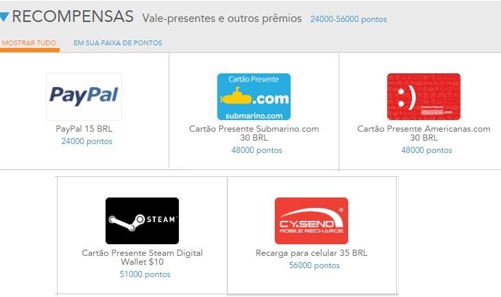 Premios para resgatar noToluna - 3 APPs e Sites pra Ganhar Dinheiro Extra Online
