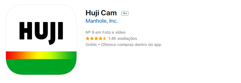 Hujicam - 4 Apps de Fotografia e Edição que Você precisa Testar
