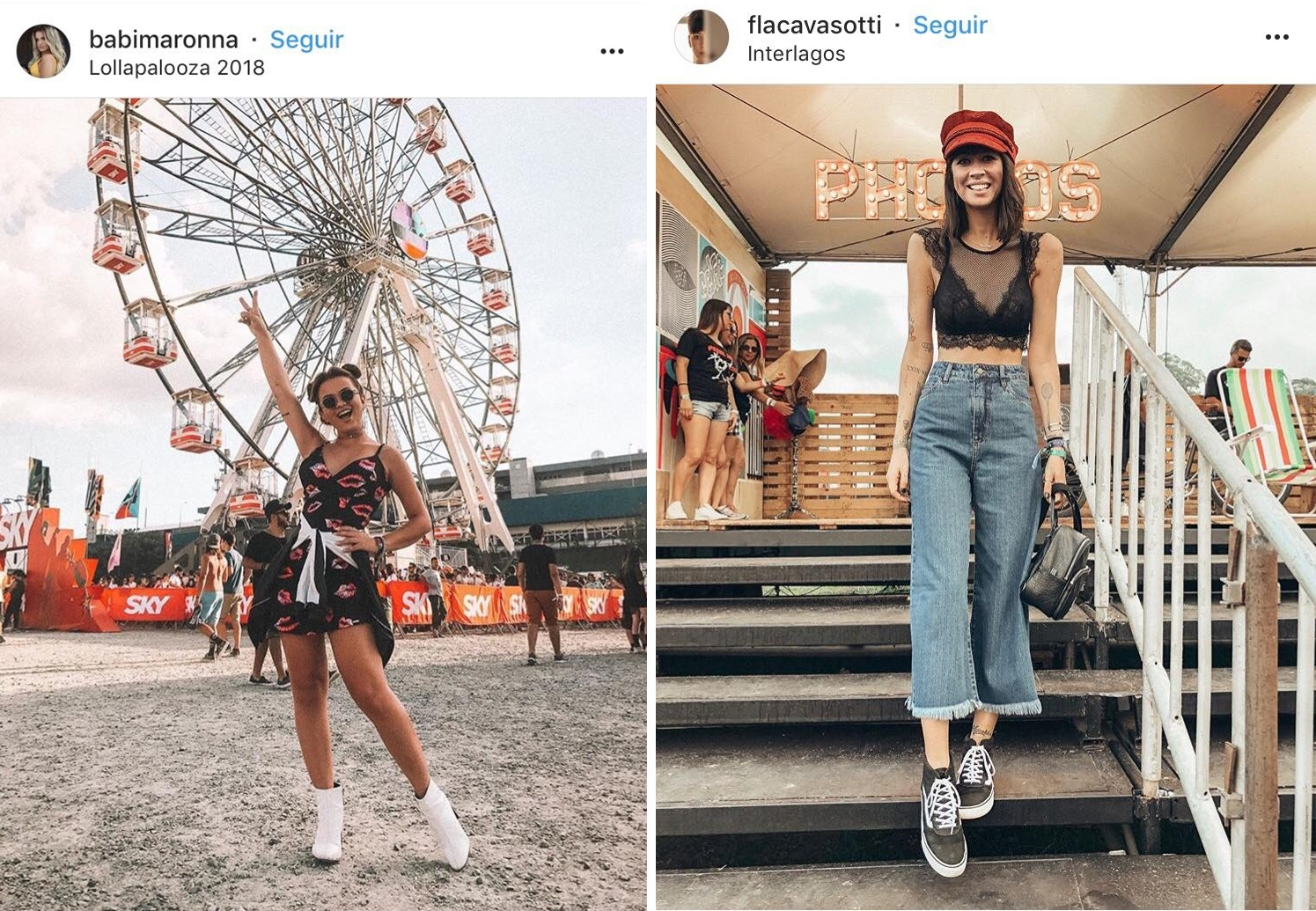 Looks do Lollapalooza 2018 - 15 Looks Incríveis do Lollapalloza 2018