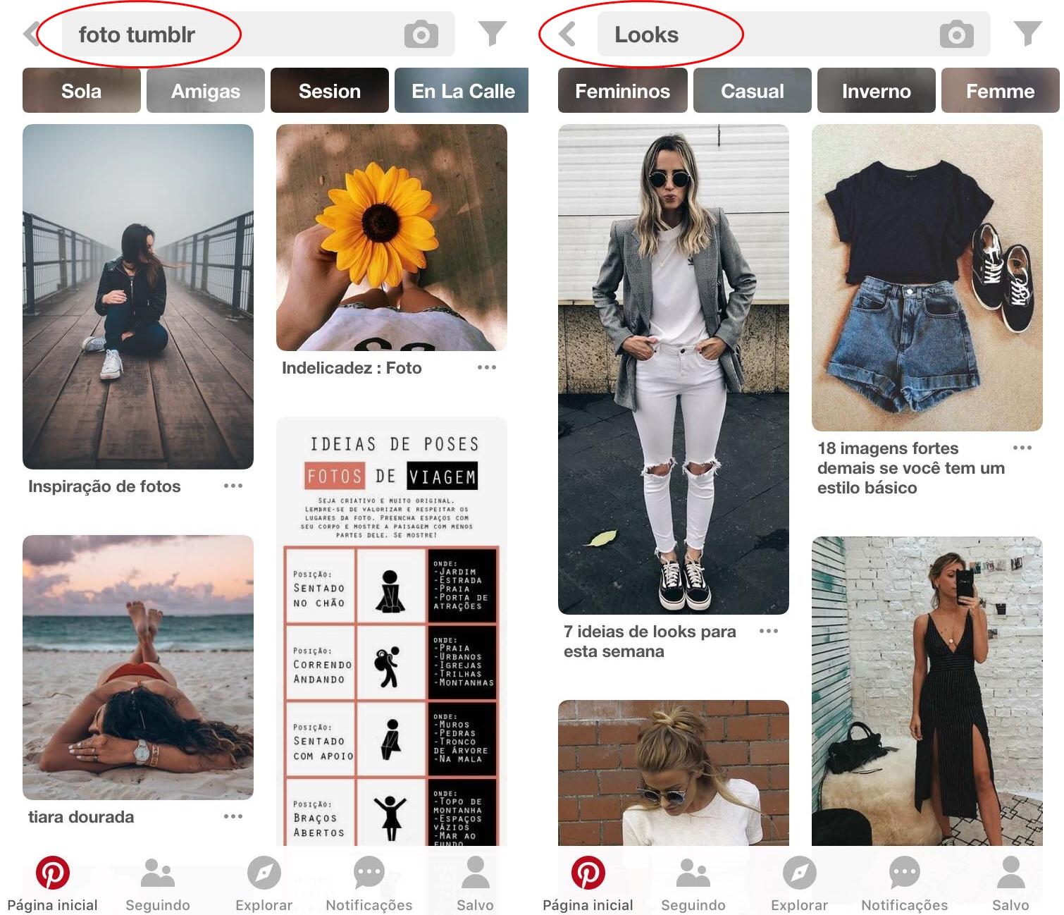 Pinterest - 4 Apps de Fotografia e Edição que Você precisa Testar