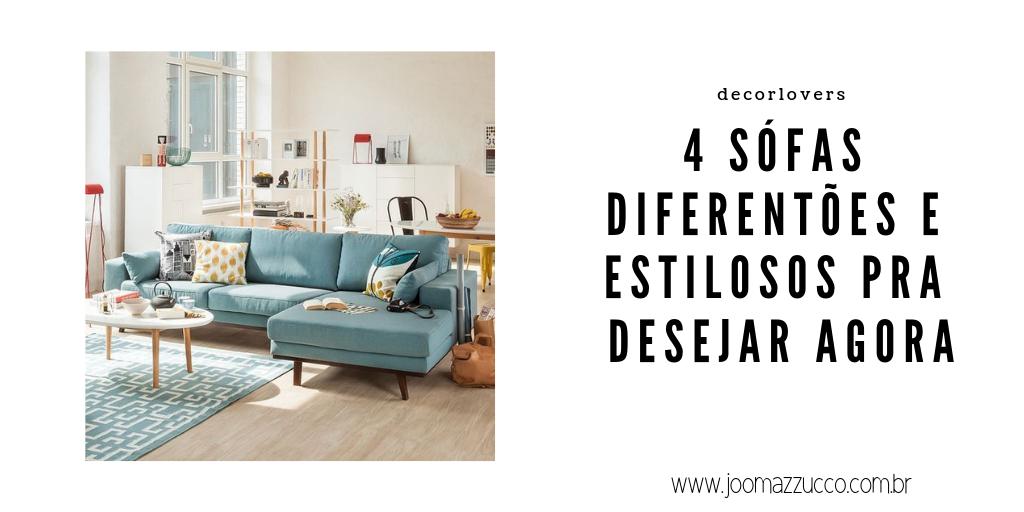 Elegance Functionality 79 - Decorlover: 4 Sófas Diferentões e Estilosos pra Desejar Agora!