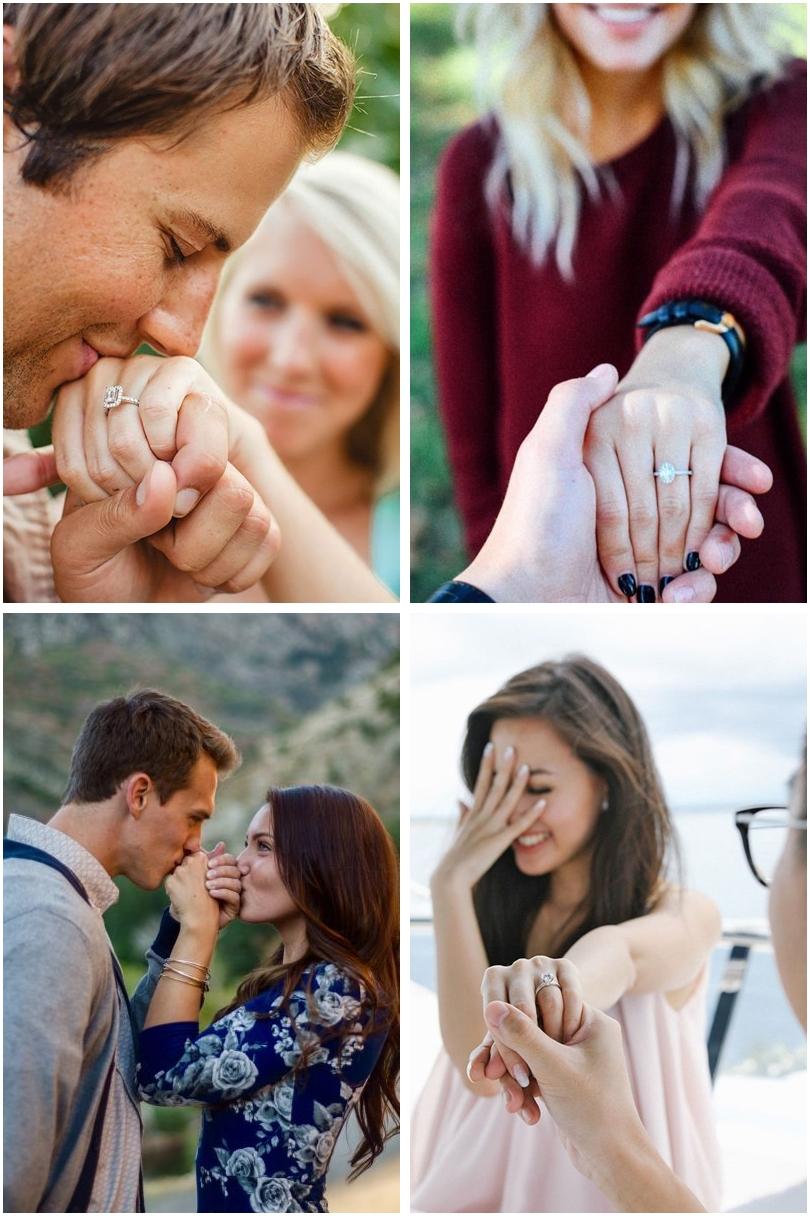 Inspirações de Fotos Pra Anunciar Noivado 01 - Inspirações de Fotos Pra Anunciar Noivado