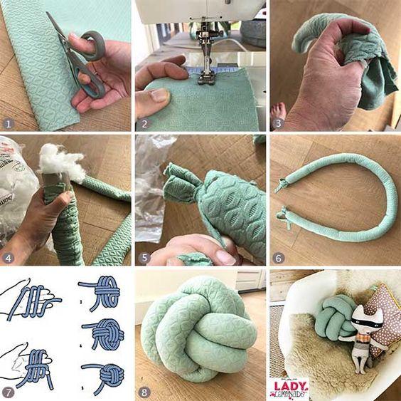 Como Usar e Como Fazer Almofada de nó 3 - Decorlovers: Como Usar e Como Fazer Almofada de Nó