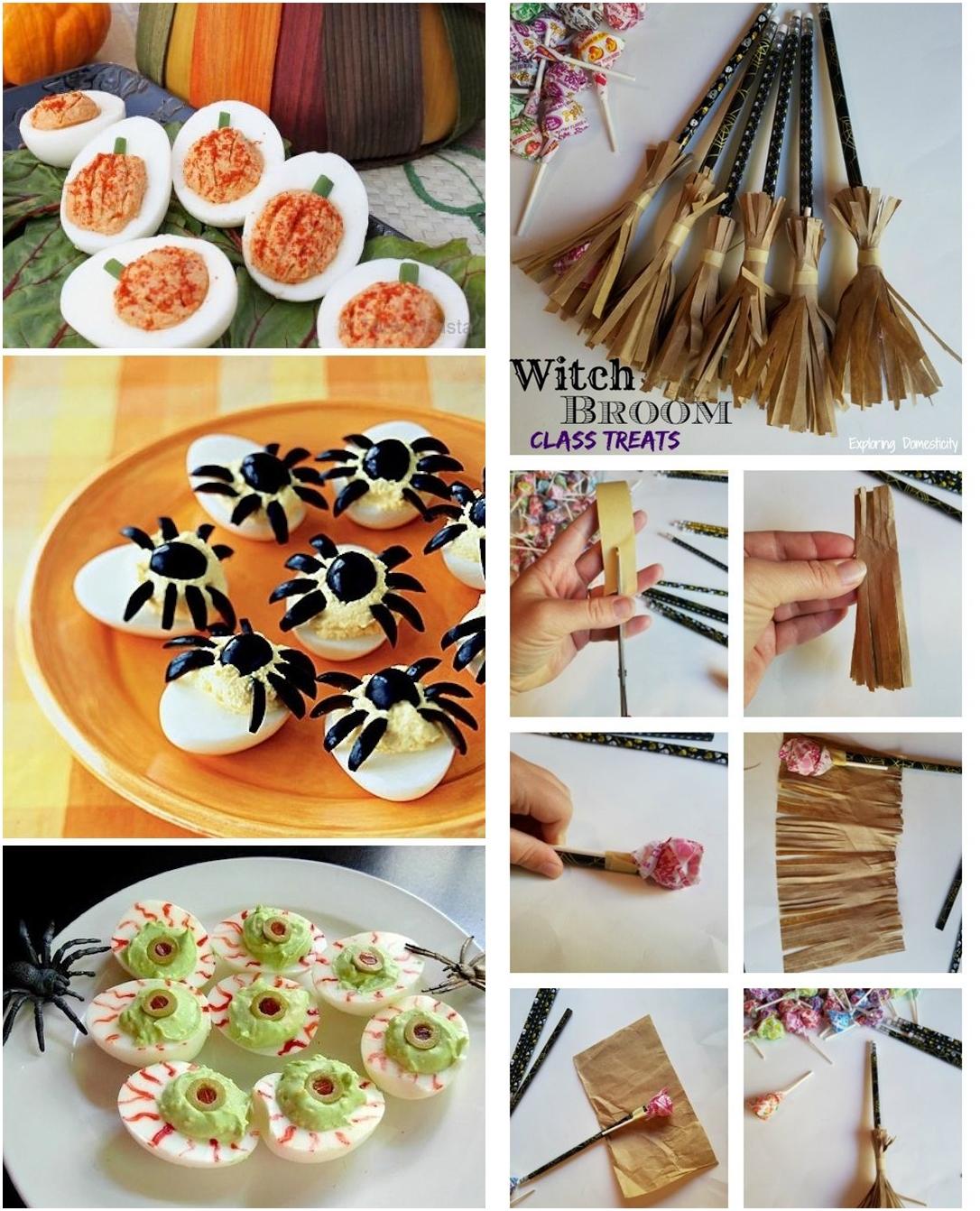 Decor de halloween 002 - Mais 15 Ideias Simples pra Decorar a sua festa de Halloween