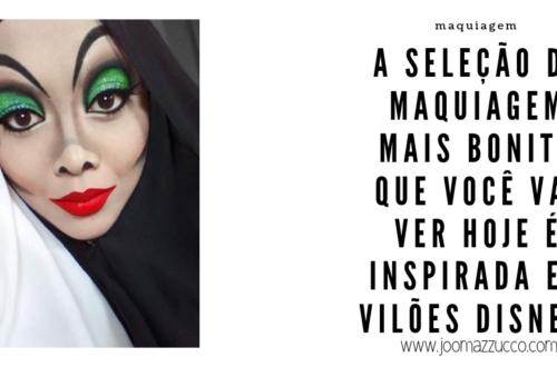 Elegance Functionality 1 500x330 - Makeup Halloween: Especial Maquiagens Dos Vilões da Disney