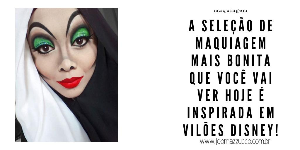 Elegance Functionality 1 - Makeup Halloween: Especial Maquiagens Dos Vilões da Disney