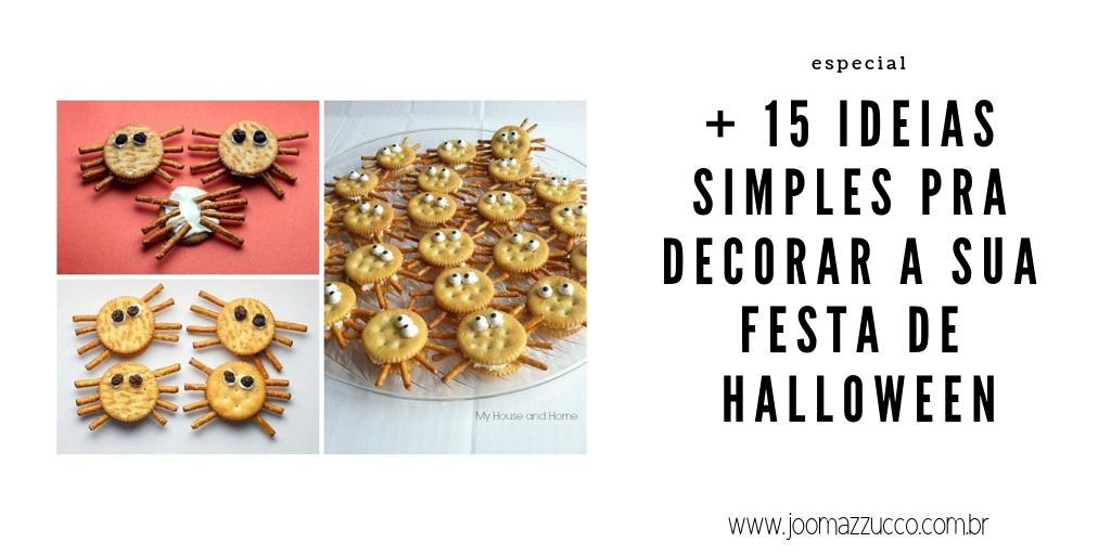 Elegance Functionality 76 - Mais 15 Ideias Simples pra Decorar a sua festa de Halloween