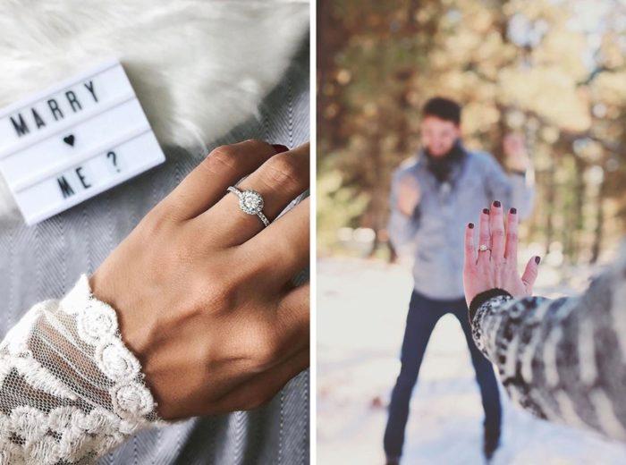 Ideias para noivado 033 700x520 - + 12 Idéias de Fotos pra Anunciar o Noivado nas Redes Sociais