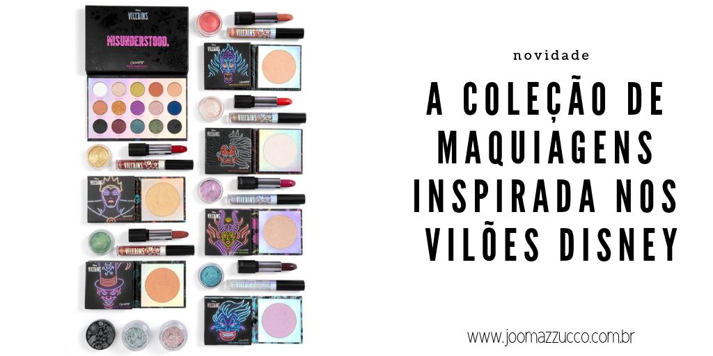 Elegance Functionality 99 - A Linha de Maquiagens da Colourpop Inspirada nos Vilões da Disney
