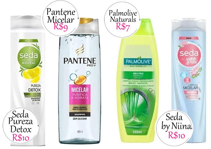 Shampoo Transparente Barato