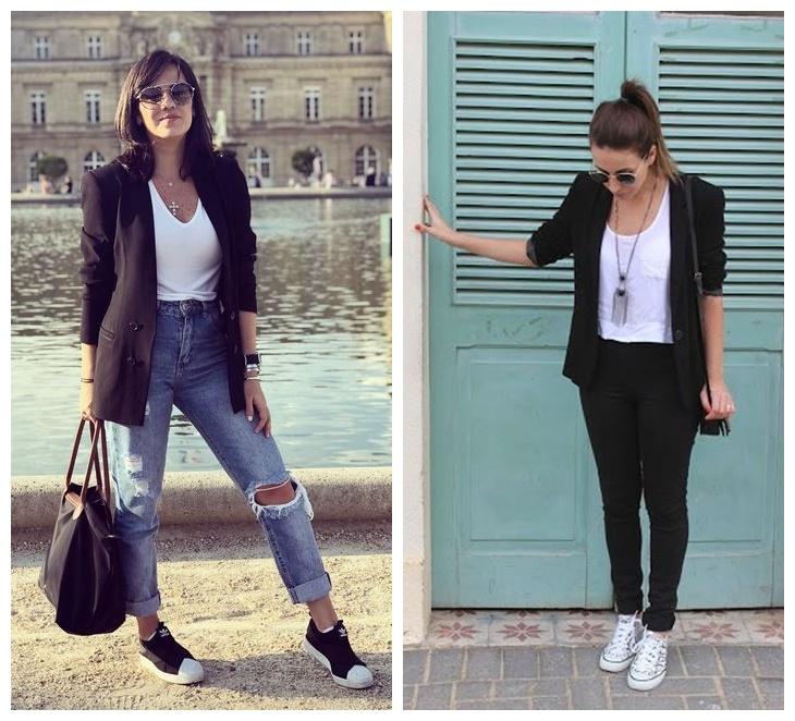 looks com blazer 03 - 10 Looks com Blazer que Provam que o Básico também pode ser Fashionista