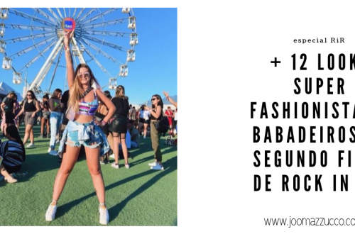Elegance Functionality 1 500x330 - + 12 Looks Super Fashionistas do Segundo Fim de Semana de Rock in Rio