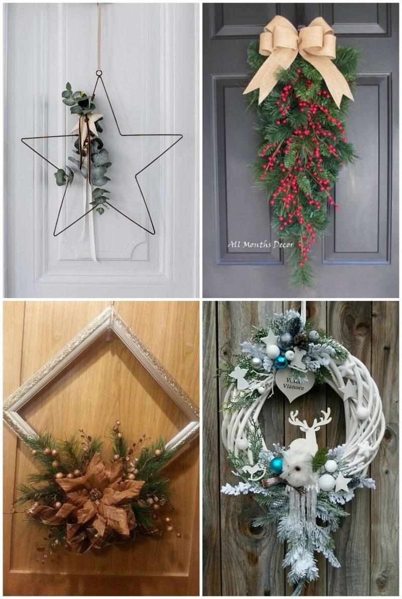 Guirlandas 02 800x1192 - 12 Inspirações de Enfeites de Porta para o Natal + Ideia de DIY