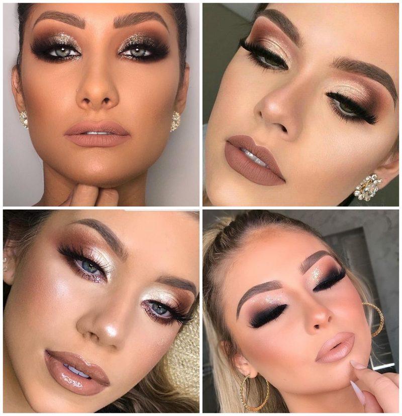 make glam festas 01 800x826 - 24 Inspirações de Maquiagem para as Festas de Fim de Ano