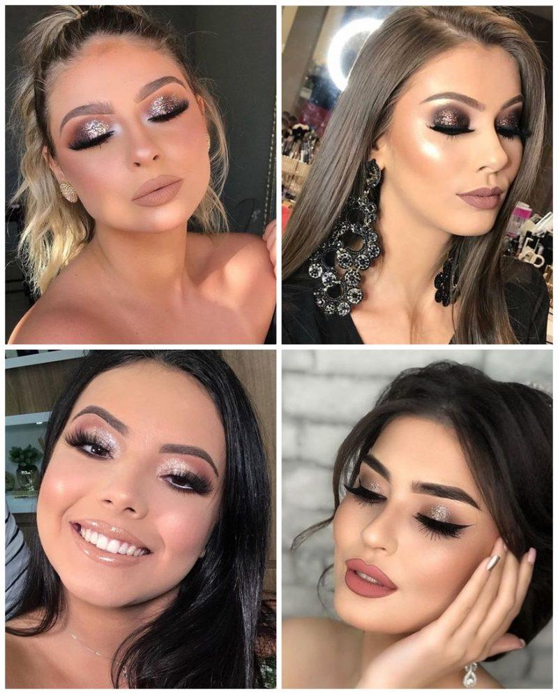 make glam festas 02 800x994 - 24 Inspirações de Maquiagem para as Festas de Fim de Ano