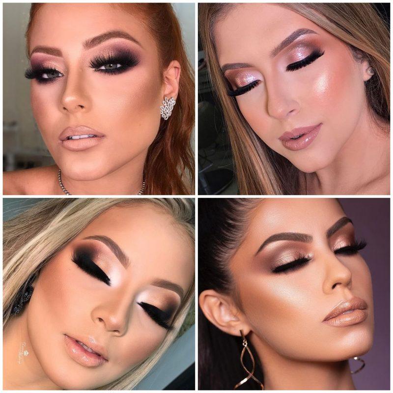 make glam festas 03 800x800 - 24 Inspirações de Maquiagem para as Festas de Fim de Ano