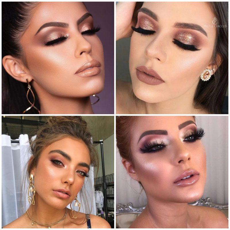 make glam festas 04 800x800 - 24 Inspirações de Maquiagem para as Festas de Fim de Ano