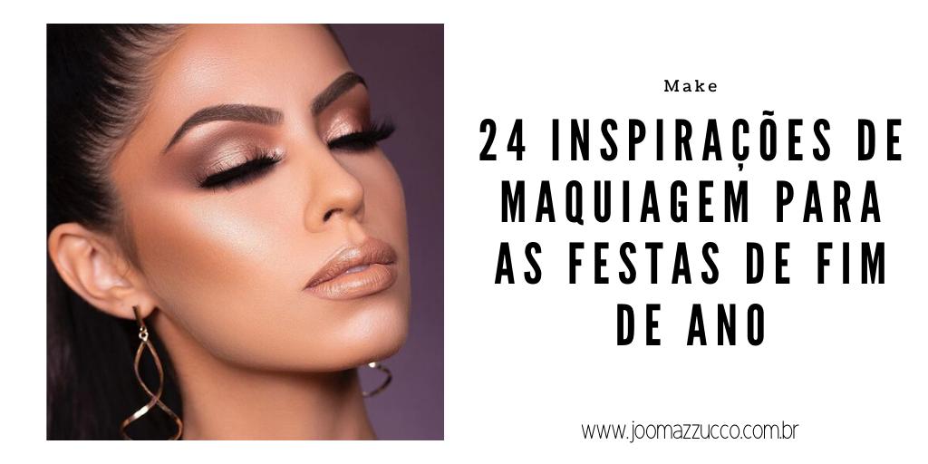Elegance Functionality 13 - 24 Inspirações de Maquiagem para as Festas de Fim de Ano