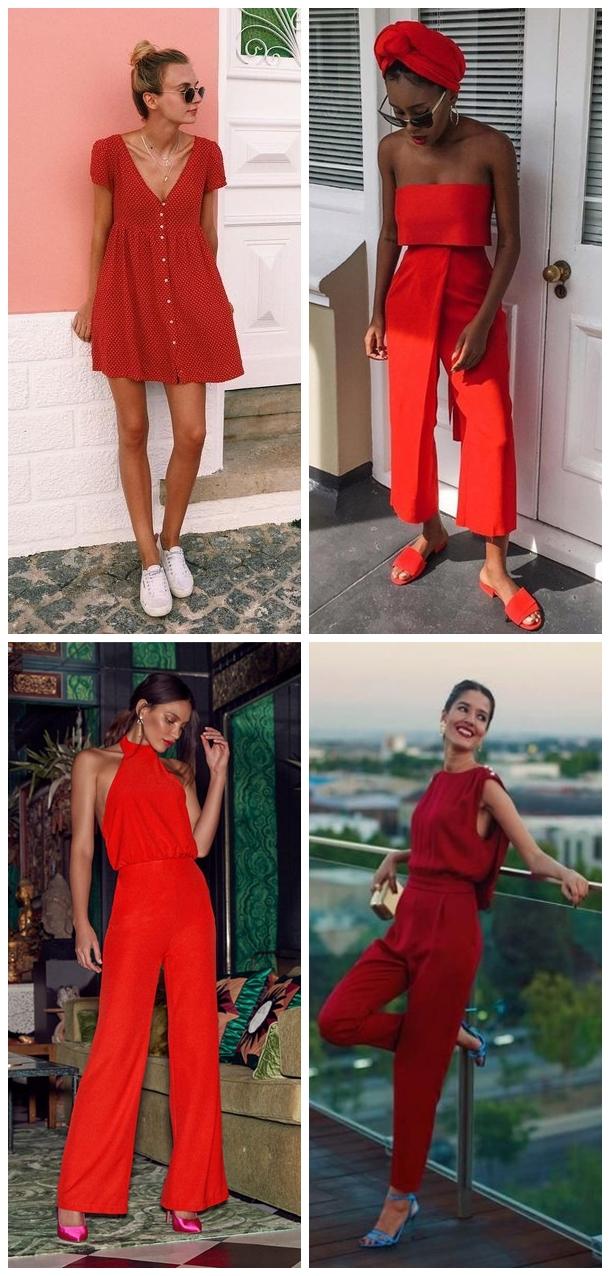 Looks 01 - Looks em Vermelho para o Natal + Onde Comprar até R$100
