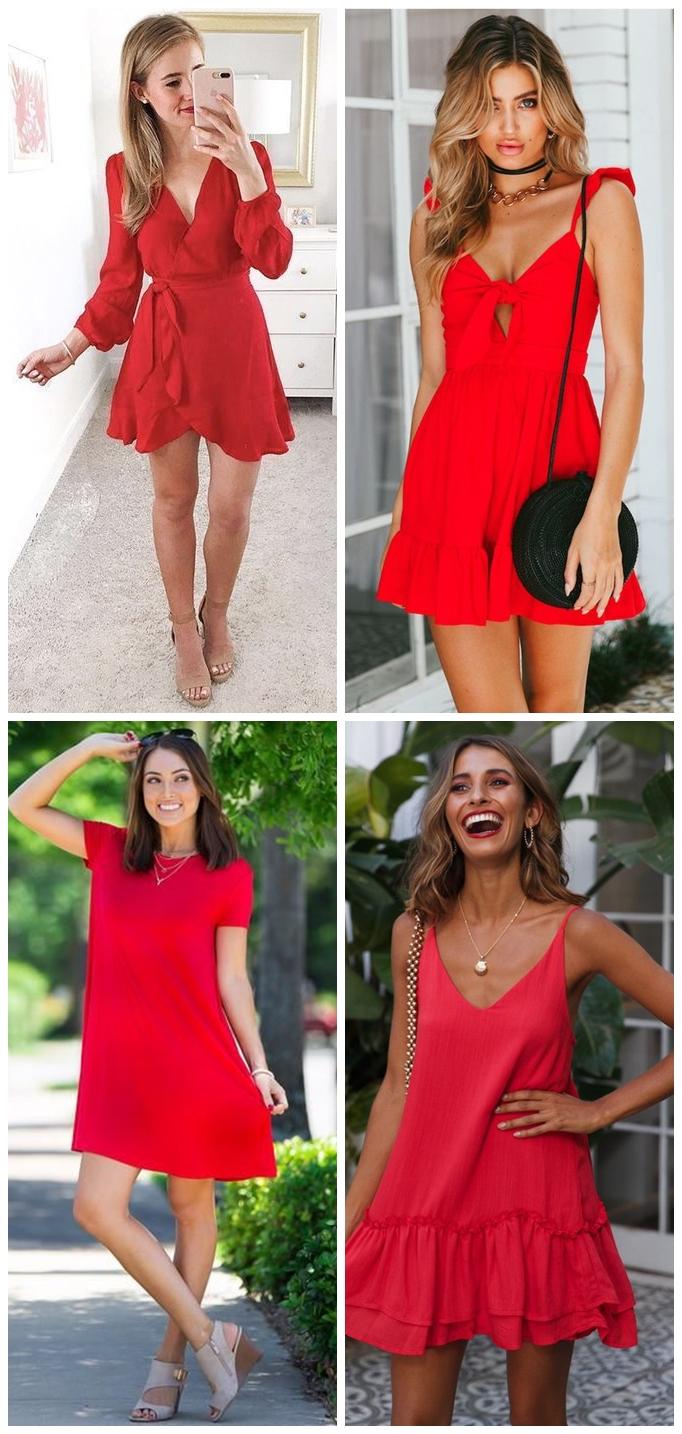 Looks 02 - Looks em Vermelho para o Natal + Onde Comprar até R$100