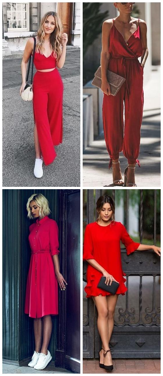 Looks 03 - Looks em Vermelho para o Natal + Onde Comprar até R$100