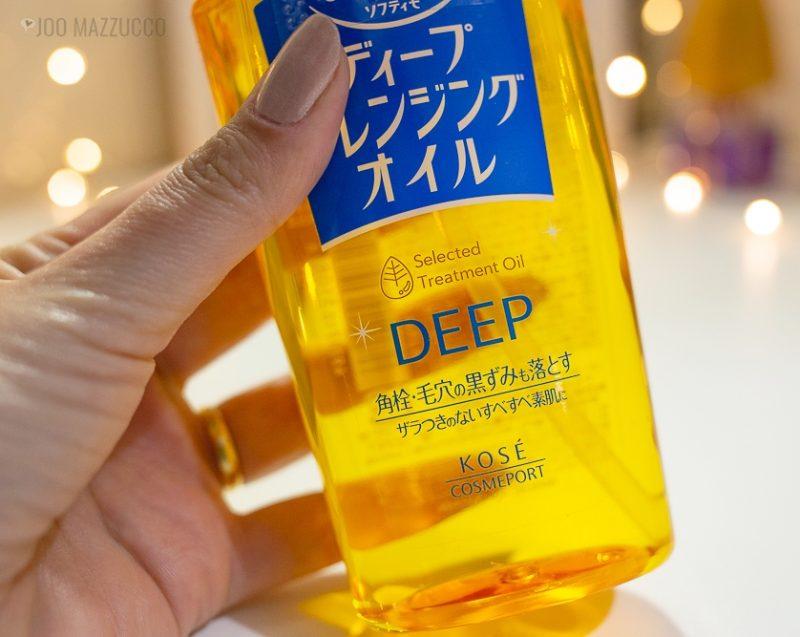 Cleanser Oil Deep Cleansing Oil da Kosé