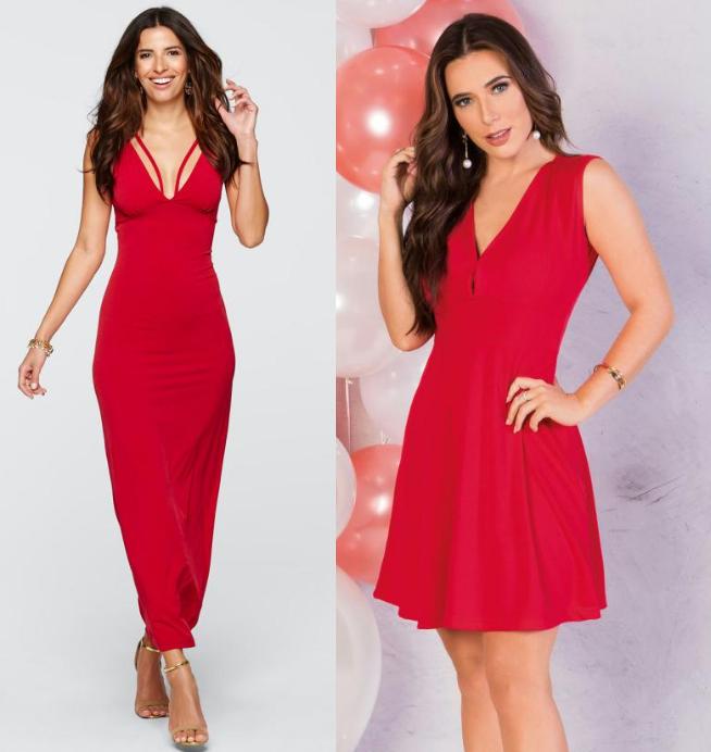 Vestido vermelho pro natal 01 - Looks em Vermelho para o Natal + Onde Comprar até R$100