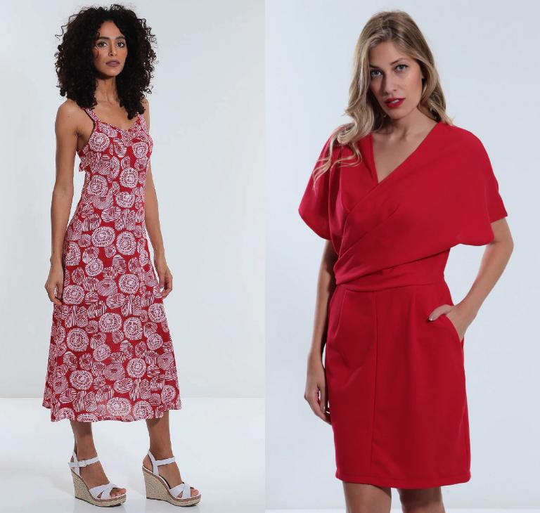Vestido vermelho pro natal 02 - Looks em Vermelho para o Natal + Onde Comprar até R$100