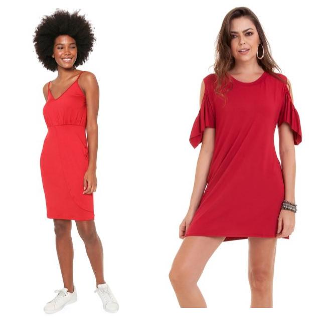 Vestido vermelho pro natal 03 - Looks em Vermelho para o Natal + Onde Comprar até R$100
