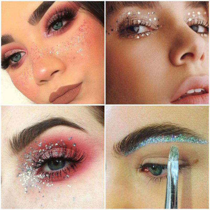 make carnaval 01 800x800 - 18 Inspirações de Maquiagem e Cabelo para o Carnaval