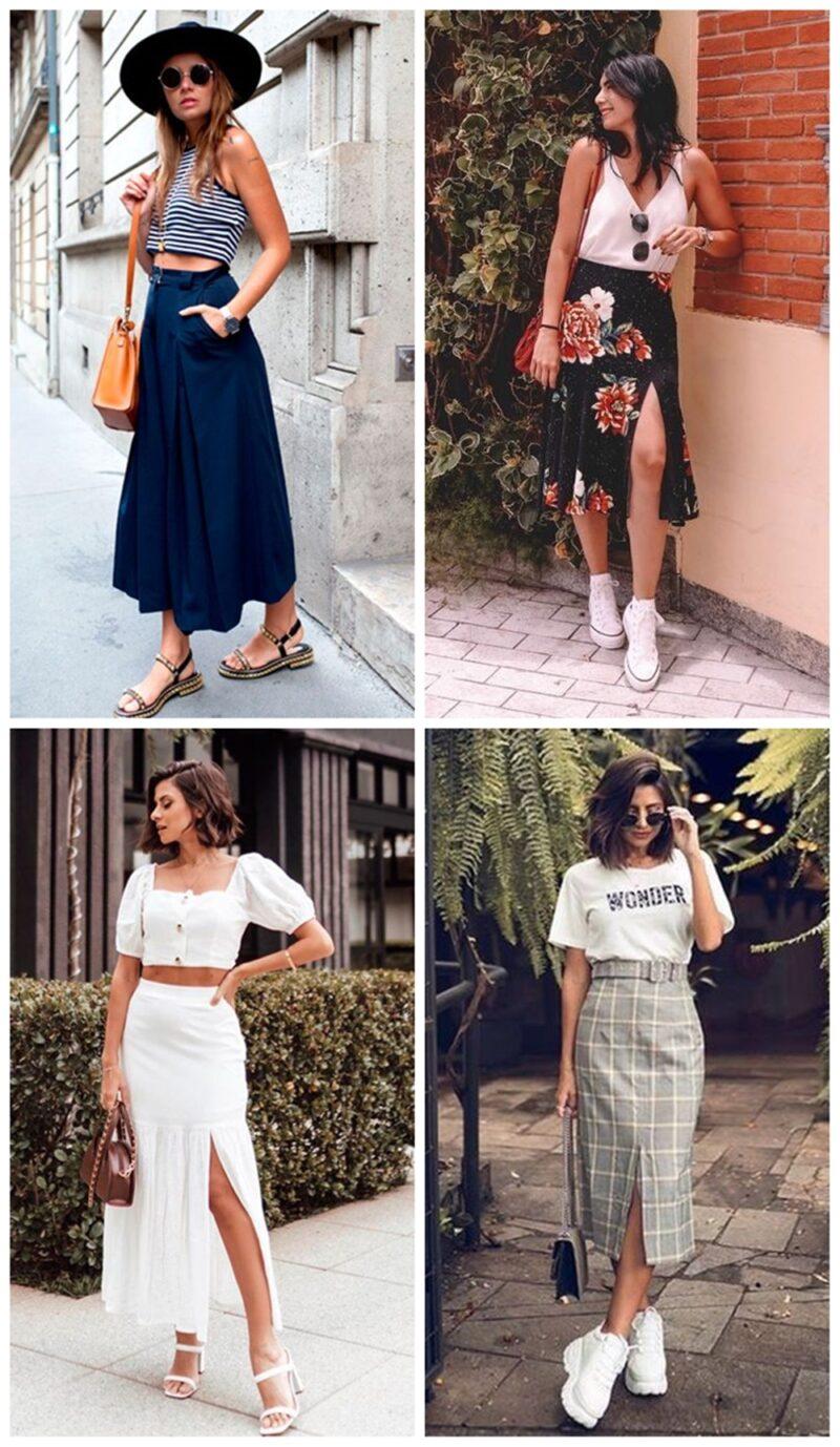 SAIACROPPED 800x1378 - Trendy de Verão: Saia + Cropped é a Combinação Fashionista da Estação
