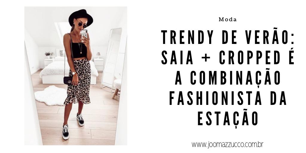 Elegance Functionality 1 - Trendy de Verão: Saia + Cropped é a Combinação Fashionista da Estação