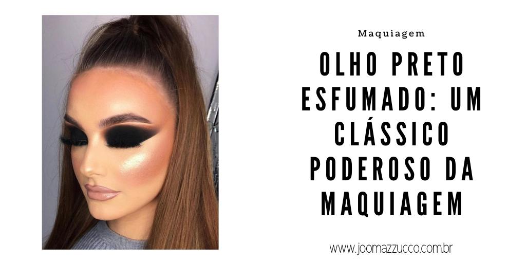 Elegance Functionality 2 - Olho Preto Esfumado: Um Clássico Poderoso da Maquiagem